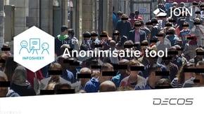 Anonimisatie tool
