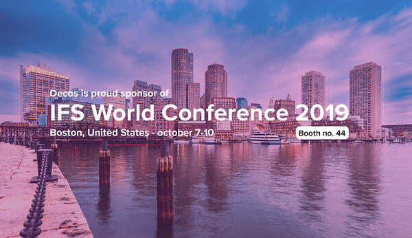 Decos participating at IFS World Conference 2019