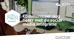 Social media integratie