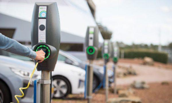 Elektrisch wagenpark